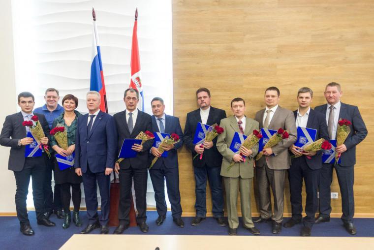 Награждение Дипломантов в номинации Продукция производственно-технического назначения